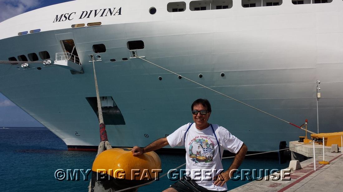 Greek Cruise Msc Divina 2014 My Big Fat Greek Cruise